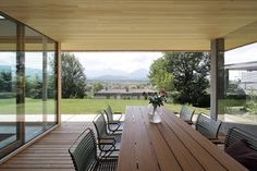 Haus DB Klaus — ARCHITEKTUR Jürgen Hagspiel Concrete Wood, House On A Hill, Villa, Outdoor Decor, Houses, House Ideas, Design, Home Decor, House Template