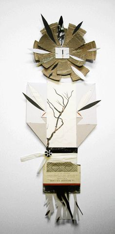 esculturas de papel : blancahelga.com
