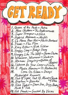 Friday Playlist: Get Ready Pre-party jams. By Amy Rose. Illustration by Minna. Sound Of Music, Music Is Life, New Music, Music Mood, Mood Songs, Music Film, Music Songs, Hybrid Moments, Song Playlist