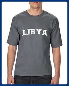 Ugo What to do in Libya? Travel Time Flag Map Guide Flights Top 10 Things To Do Ultra Cotton Unisex T-Shirt Tall Sizes - Cities countries flags shirts (*Amazon Partner-Link)