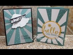 Stamp & Scrap with Frenchie: Sunburst Thinlits with the Sky is the Limits