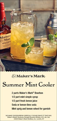 Bourbon Cocktails, Summer Cocktails, Cocktail Drinks, Cocktail Recipes, Party Drinks, Fun Drinks, Alcoholic Drinks, Beverages, Mixed Drinks