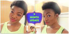 6 Months post big chop! :)