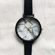 Women Watches, Marble Watch, Minimalist Watch, Wrist Watch, Leather... (23 BAM) via Polyvore featuring jewelry and watches