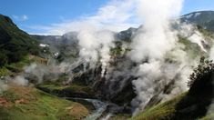 The Valley of Geysers is a geyser field on Kamchatka Peninsula, Russia, and has the second largest concentration of geysers in the world Last Minute Flight Deals, Russia, Restaurants, Two By Two, Mountains, World, Travel, Viajes, Restaurant