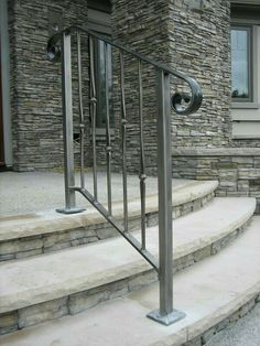 Image result for outdoor stair railing | White Residence ...