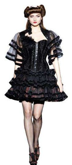 Gothic Lolita Looks: Bibian Blue's Collection at 080 Barcelona Fashion Show is Hot