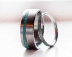 Mens Wedding Band Matching Set Camo & Elk by StagHeadDesigns