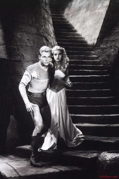 From the Flash Gordon archives starring Buster Crabbe and Jean Rogers