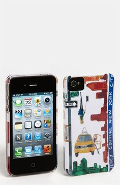 Juicy Couture 'New York' iPhone 4 & 4S Case