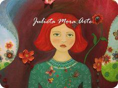 Arte infantil de Julieta Mora. Argentina.