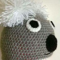Sono felice di condividere l'ultimo arrivato nel mio negozio #etsy: Cappello Koala http://etsy.me/2hq21YY