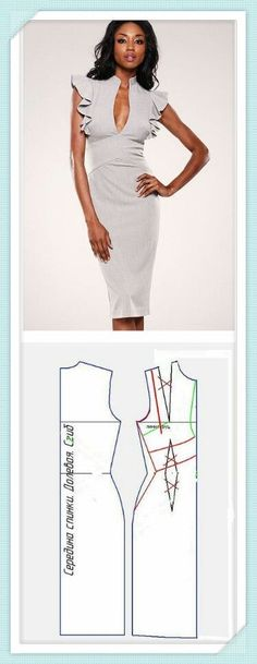 All Things sewing and pattern making Diy Clothing, Sewing Clothes, Clothing Patterns, Dress Patterns, Sewing Patterns, Simple Dresses, Short Dresses, Diy Kleidung, Pattern Cutting