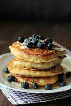 Hallo ihr Lieben   Heute mal ein schneller zwischendurch Post. Bei Instagram habe ich letzte Woche diese traumhaften Pancakes gezeig...