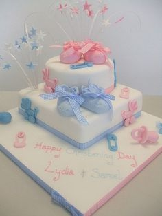 CAKE - Joint christening | Flickr - Photo Sharing!
