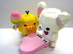 Kawaii Rilakkuma Paper Craft | Blog | GirlyBubble