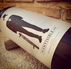 The Invisible Man, DOC Rioja #Vino #Tempranillo #Wine #Design #Label #fashion