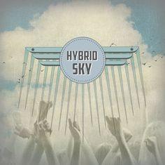 hybrid sky social media design