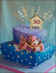 dreamy birthday cake