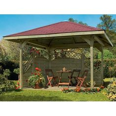 pergola wiata ancolie forest style leroy merlin 458 z. Black Bedroom Furniture Sets. Home Design Ideas