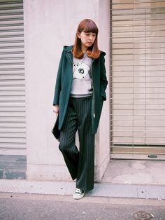 MARIKOさんのその他アウター「IENA 《追加》二重織シャルムフード付きコクーンコート◆」を使ったコーディネート
