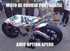 29.Spécial apéro La moto de course portugaise qui fait aussi office de bar mobile pour tes apéros. - Advertisement -