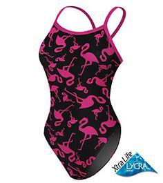 (vu) wow I need a flamingo bathing suit