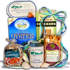 Amazon.com : Catch Of The Day™ - Seafood Gift Basket Stack : Gourmet Seafood Gifts : Grocery & Gourmet Food