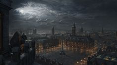 The World of Steam - Matte paintings on Behance