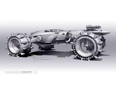 Tron Legacy Concept Car by Daniel Simon