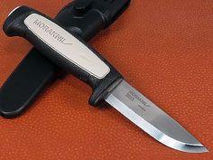 Mora Sweden Morakniv Robust Fixed Blade Hunter Survival Knife Carbon Steel 1518 #survivalknife