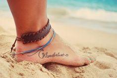 Wanderlust & Wave Tattoo!