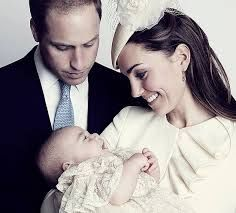 royal family, formal picture with new baby