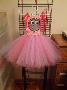 Rosie from Thomas the train tutu dress by Fancythatcreation, $35.00