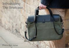 The Briefcase by Pad & Quill