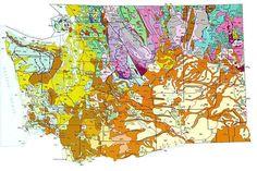 Geologic Maps of the 50 United States: Washington Geologic Map