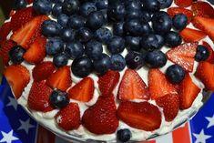 Patriotic Berry Trifle - Mrs Happy Homemaker