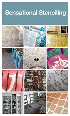 "Amazing stencils! I plan on stenciling ""wallpaper"" in my kitchen"