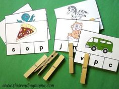 Learning the Alphabet: Printable ABC Packs Alphabet Sounds, Alphabet Phonics, Teaching The Alphabet, Alphabet For Kids, Learning Letters, Kids Learning, Jolly Phonics, Beginning Sounds, Early Literacy