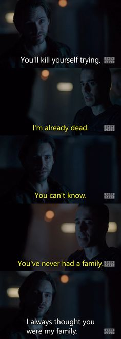 There is absolutely nothing that is okay about this scene 12 Monkeys S02E11 - Resurrection