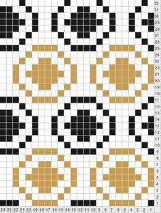 Bag making color chart and data Knitting Charts, Knitting Stitches, Knitting Patterns, Fair Isle Chart, Fair Isle Pattern, Crochet Diagram, Crochet Chart, Diy Bordados, Cross Stitch Patterns