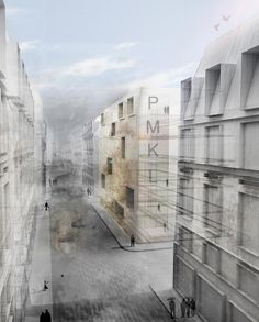 Fernández Megino . Román . Fernández Megino . Fernández Laso . Herrera  Paris Market Lab Architecture Competition