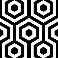Hexágono Wallpaper Roll now featured on Fab.