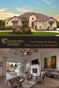 Coventry Homes Offers Beautiful New Homes In Houston Suburbs Such As The  Woodlands, Cypress,