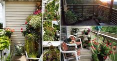 Lack of space can't be the reason for not growing plants. We're sharing 17 Balcony Garden Pictures posted by our readers for inspiration! Apartment Balcony Garden, Apartment Balconies, Balcony Gardening, Garden Web, Tomato Plants, Garden Pictures, Growing Plants, Small Apartments, Art Deco