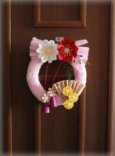 ママハピで作らせていただいたazaleapaperさんのお正月飾り の画像 Paper Flowers 〜ペーパーフラワーデザイナー 前田京子(JPA本部講師)のブログ〜