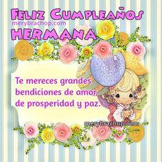 Imágenes+Feliz+Cumpleaños+Hermana