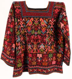 Mexican Embroidered Sweater Mexican Fashion, Mexican Outfit, Mexican Dresses, Ethnic Fashion, Boho Fashion, Fashion Outfits, Hippie Style, My Style, Boho Style
