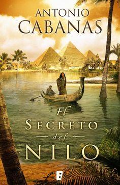"""Antonio Cabanas  """"El secreto del Nilo"""""""