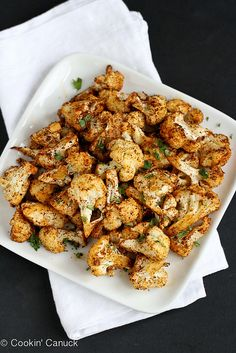 Southwestern Roasted Cauliflower Recipe with Cumin & Paprika | CookinCanuck